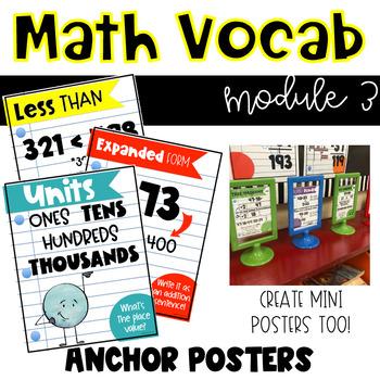 Eureka Math Anchor Posters-Module 3, Grade 2