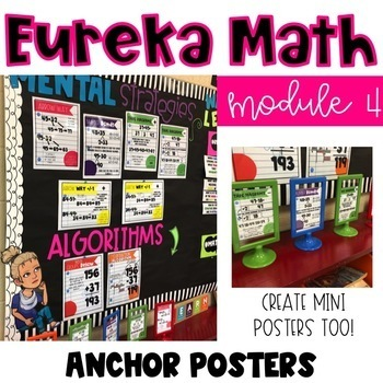 Eureka Math Anchor Posters-Module 4, Grade 2