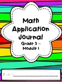 Eureka Math Application Journal - Module 1 - 3rd Grade