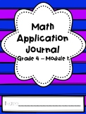 Eureka Math Application Journal - Module 1 - 4th Grade