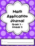 Eureka Math Application Journal - Module 2 - 3rd Grade