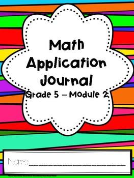 Eureka Math Application Journal - Module 2 - 5th Grade