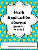 Eureka Math Application Journal - Module 5 - 4th Grade