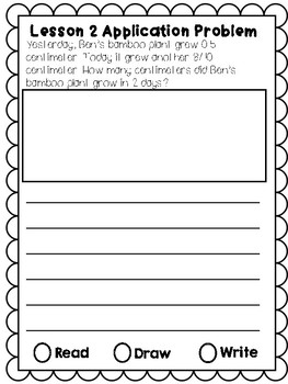 Eureka Math Application Journal - Module 6 - 4th Grade
