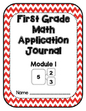 Eureka Math Application Problem Journal First Grade Module 1