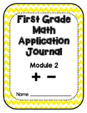 Eureka Math Application Problem Journal First Grade Module 2
