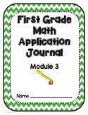 Eureka Math Application Problem Journal First Grade Module 3