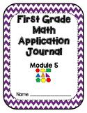Eureka Math Application Problem Journal First Grade Module 5