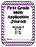 Eureka Math Application Problem Journal First Grade Module 5