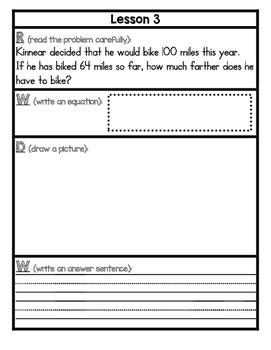 Eureka Math Application Problem Journal Second Grade Module 3