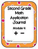 Eureka Math Application Problem Journal Second Grade Module 4