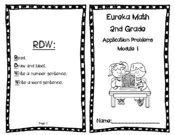 Eureka Math Application Problems Booklet