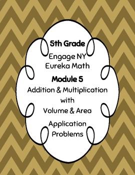 EngageNY and Eureka Math Application Problems - Grade 5 - Module 5 - V3
