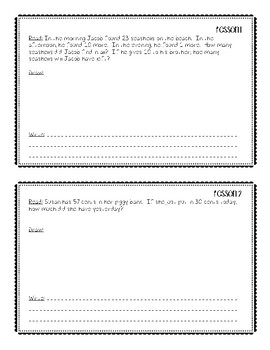 Eureka Math Application Problems Module 4 Second Grade