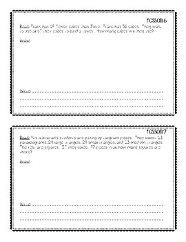 Eureka Math Application Problems Module 8 Second Grade