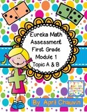 Eureka Math -Assessment - Test -First Grade   Mod.1 Topic A/B Engage/NY