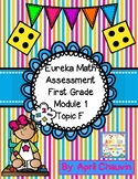 Eureka Math Assessment First Grade  Module 1 Topic F Test Engage / NY