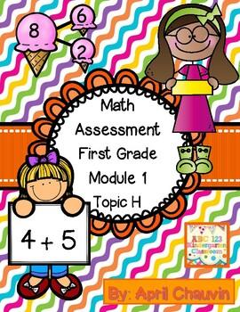 Eureka Math Assessment First Grade  Module 1 Topic H