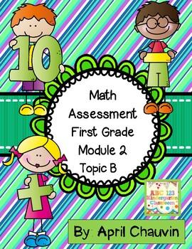 Eureka Math Assessment First Grade  Module 2 Topic B