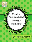 Eureka Math Assessment First Grade  Module 3 Topic A, B, a