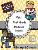 Eureka Math Assessment First Grade  Module 3 Topic D