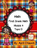 Eureka Math Assessment First Grade  Module 4 Topic D