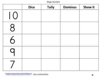 Math Books- Numbers 1-10