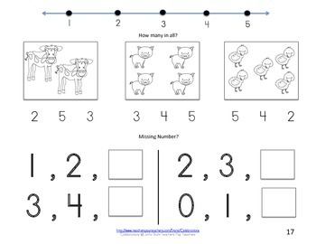 Eureka Math Books- Numbers 1-5