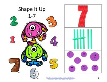 Eureka Math Books- Numbers 1-7