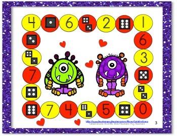 Math Books- Numbers 1-7