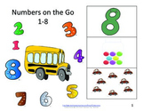 Math Books- Numbers 1-8