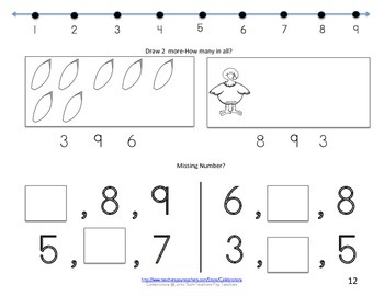 Math Books- Numbers 1-9