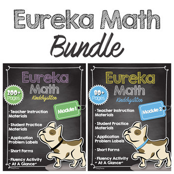 Eureka Math Companion - Module 1 + Module 2 BUNDLE