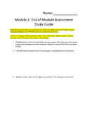 Eureka Math End-Module 2 Study Guide