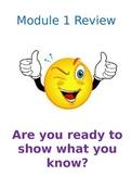 Eureka Math End of Module 1 Review