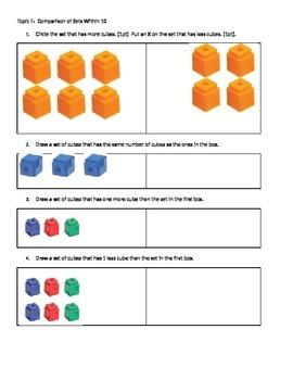 Eureka Math End of Module 3 Kindergarten Assessment