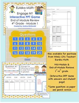 Eureka Math / Engage NY 1st Grade Mid-module review Module 6