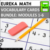 Eureka Math / Engage NY - 1st Grade Vocabulary Cards - BUN