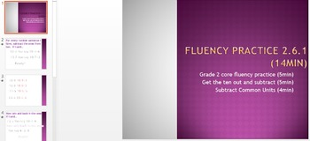 Eureka Math Engage NY 2nd Grade All Unit 6 Fluency & Concept Development..40ppts