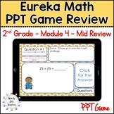 Eureka Math/ Engage NY 2nd Grade Module 4 Mid-Module Review PPT Game