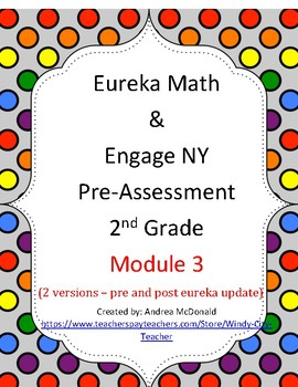 Eureka Math / Engage NY 2nd Grade Pre-Assessment Module 3