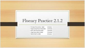 Eureka Math Engage NY 2nd Grade All Unit 1 Fluency & Concept Development