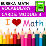 Eureka Math / Engage NY - 2nd Grade Vocabulary Cards - MODULE 3