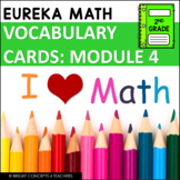Eureka Math / Engage NY - 2nd Grade Vocabulary Cards - MODULE 4