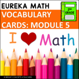 Eureka Math / Engage NY - 2nd Grade Vocabulary Cards - MODULE 5