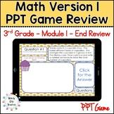 Eureka Math/ Engage NY 3rd Grade Module 1 End-of-Module Re