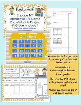 Eureka Math / Engage NY 3rd Grade Mid-module review Module 3