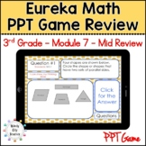 Eureka Math/ Engage NY 3rd Grade Module 7 Mid-Module Review PPT Game