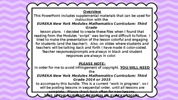 Eureka Math/Engage NY 3rd grade Module 4 Lesson 13 Slideshow