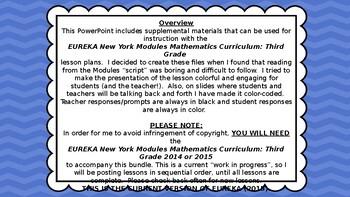Eureka Math/Engage NY 3rd grade Module 4 Lesson 14 Slideshow